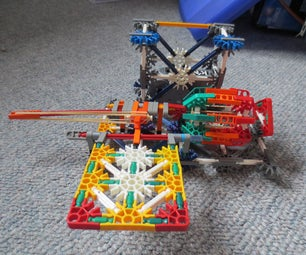 Knex Pedal Activated Landmine Instructions