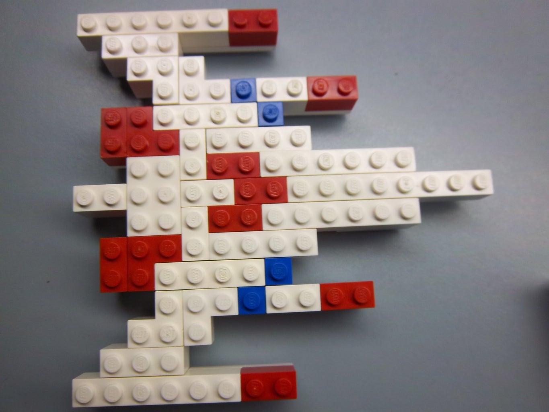 LEGO Galaga Spaceship