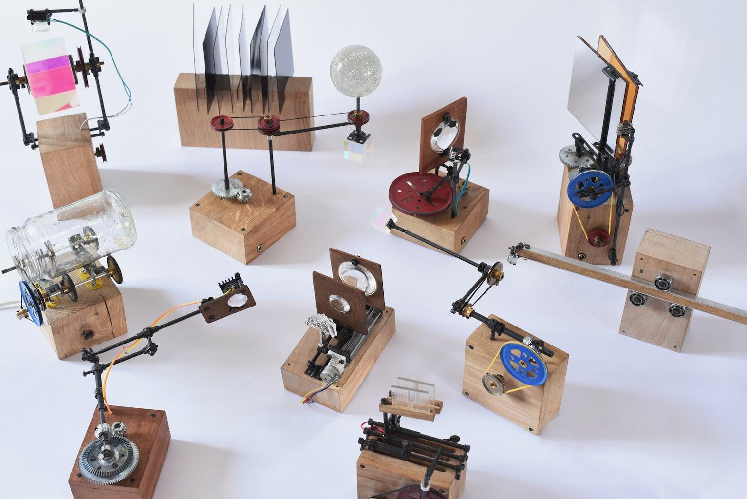 The Light-sculptures