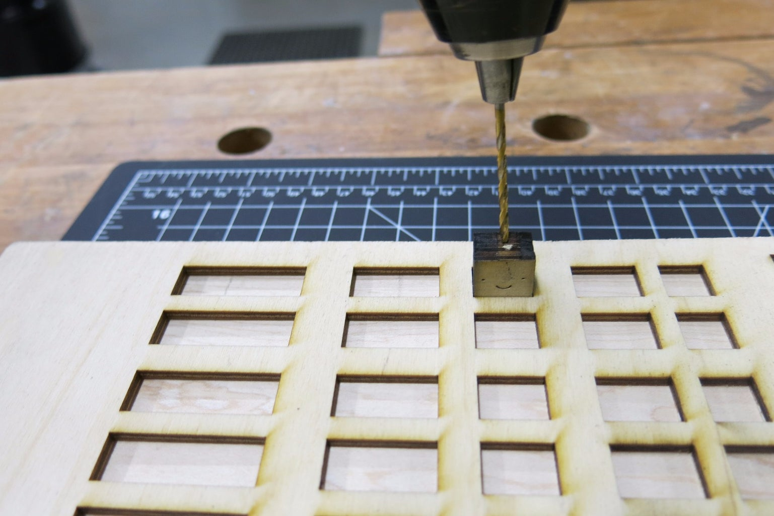 Drill Holes for Elastic