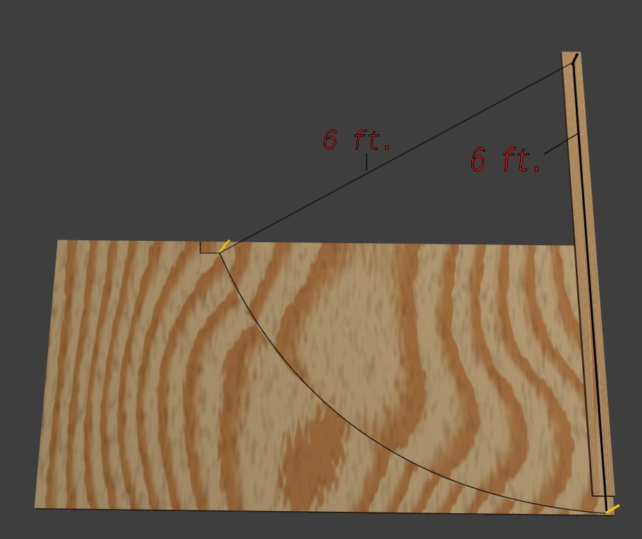 Details about  /Skateboard Ramp Quarter Pipe 3ft And 4ft