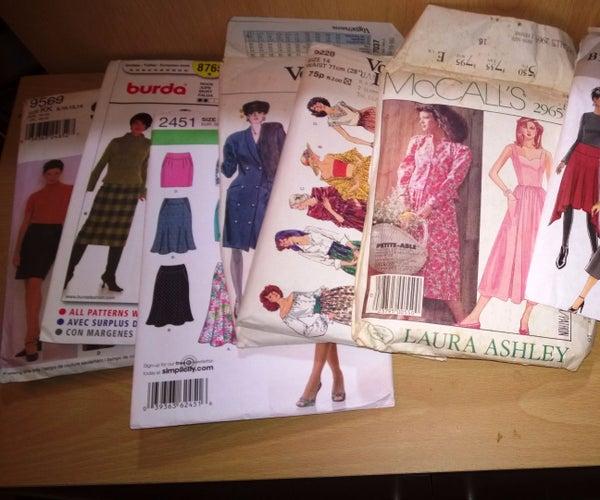 Dress Pattern Storage Solution