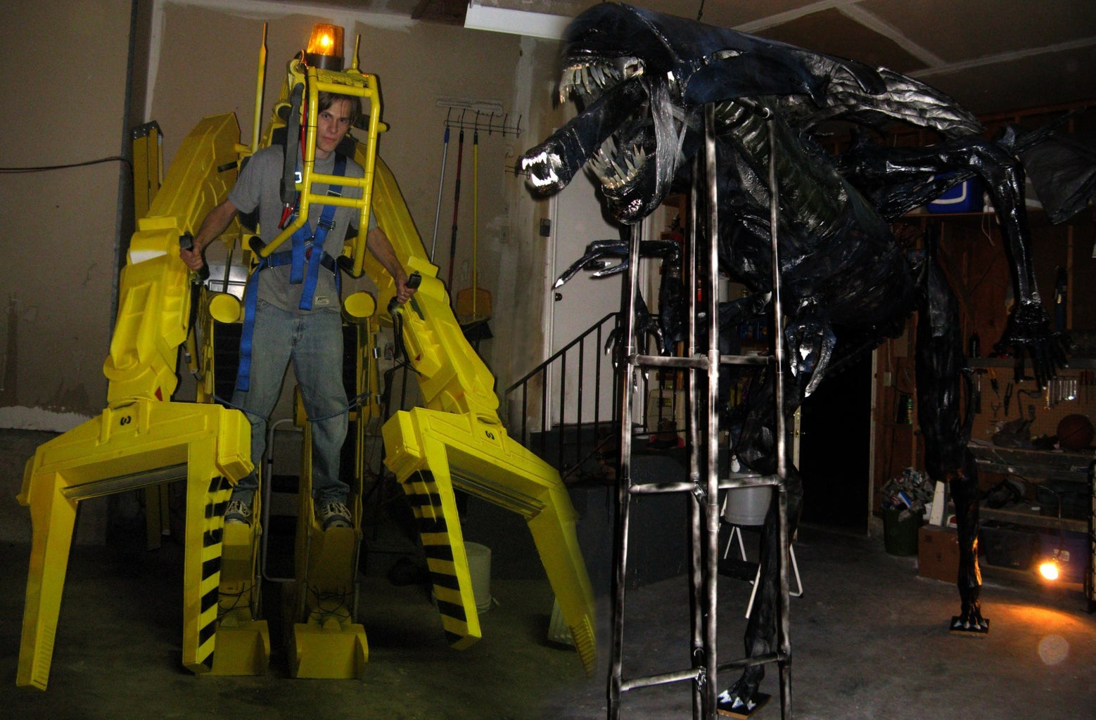 Full-Size Power Loader Costume From Aliens
