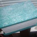 Glittered Book Box [blue]