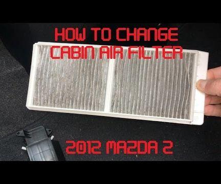Tutorial: Change Cabin Air Filter on 2012 Mazda 2