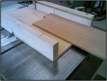 Gluing the Boards for the Top