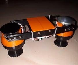塔攀登帮助机器人V1  - 两个腿,RF,BT控制与应用程序