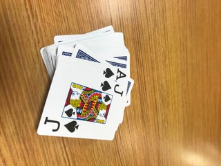 card index betting rules of 21