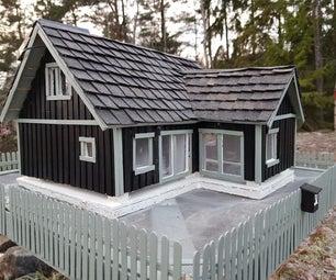 Bird Feeder - House Replica
