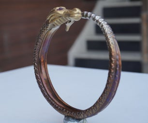 Stainless Steel Dragon Bracelet Form Welding Electrodes