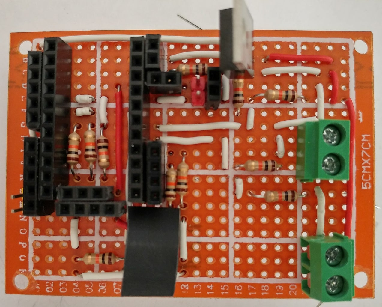 Soldering Steps: MOSFET, Resistance to Check Voltage