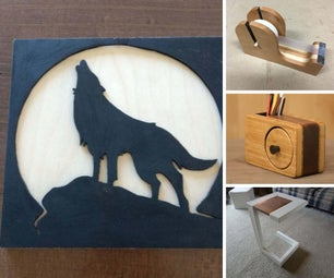 Beginner Project Ideas: Wood Shop