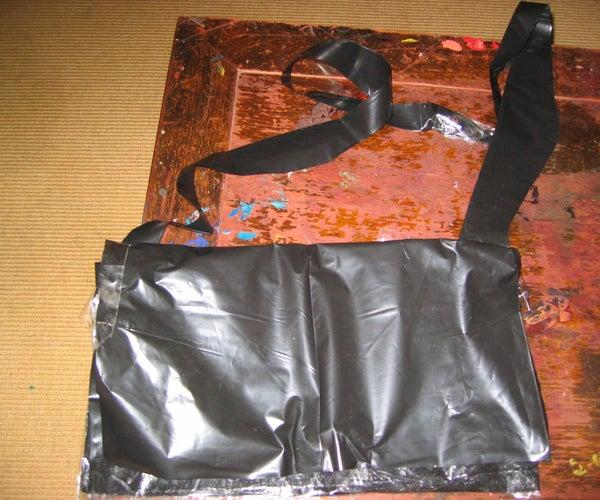 Garbage Bag Messanger Bag