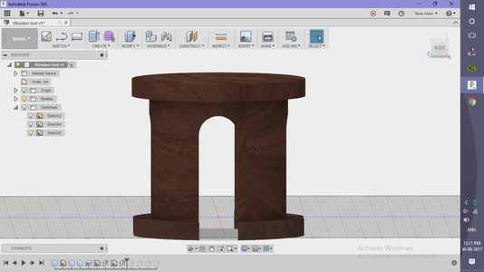 Make the Table Legs