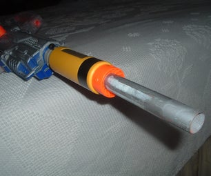 Nerf Rifle 30-50 Ft!!!