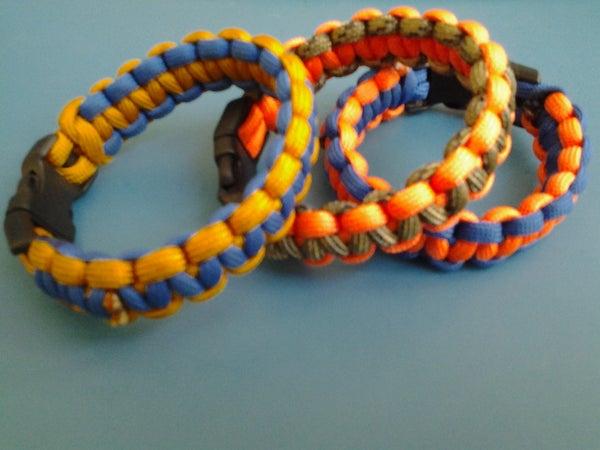 Basic Paracord Cobra Bracelet