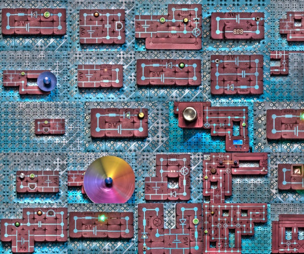 Electric Puzzle Game