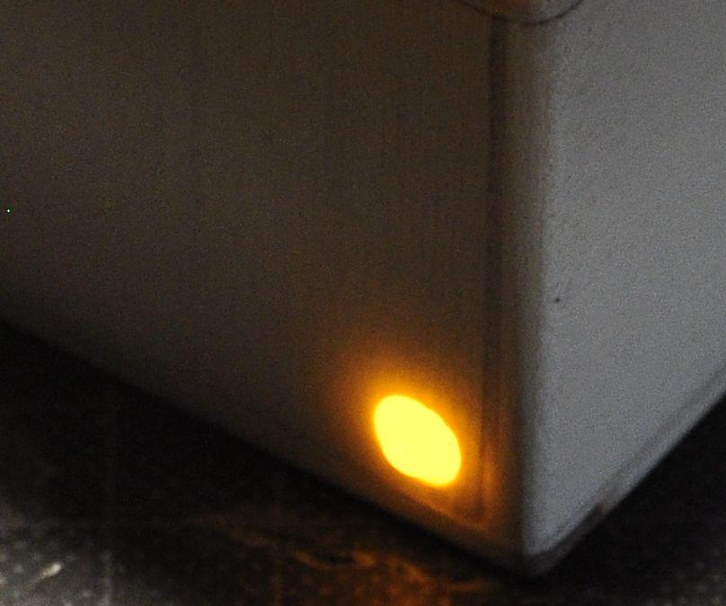 Illuminated switch with 5mm LED