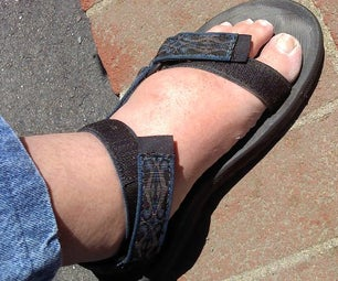 Fix Your Velcro Sandals to Handle Wide Feet