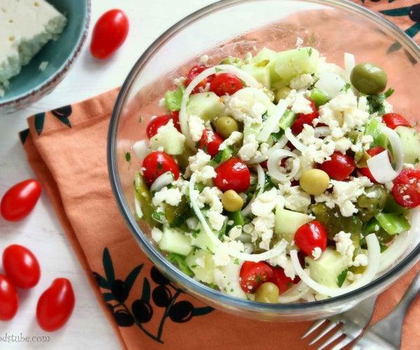 Shopska Salad – Bulgarian Food