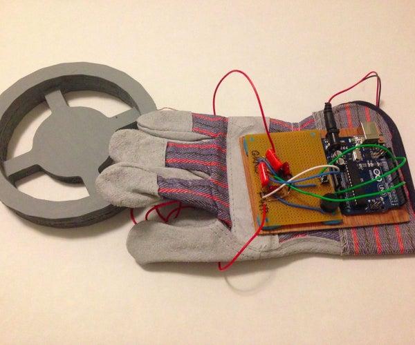 Arduino Glove Metal Detector