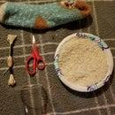 Diy Hand Sew 5 Minute Sock Heat Pad .
