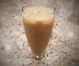 White Chocolate Hazelnut Iced Coffee