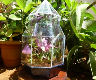 Stained Glass Terrarium: a Weekend Project