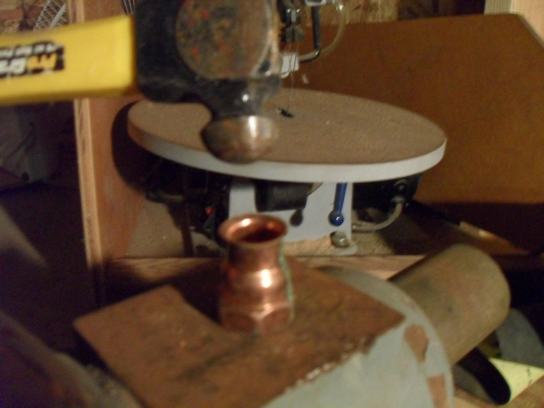 Distillation Pot.