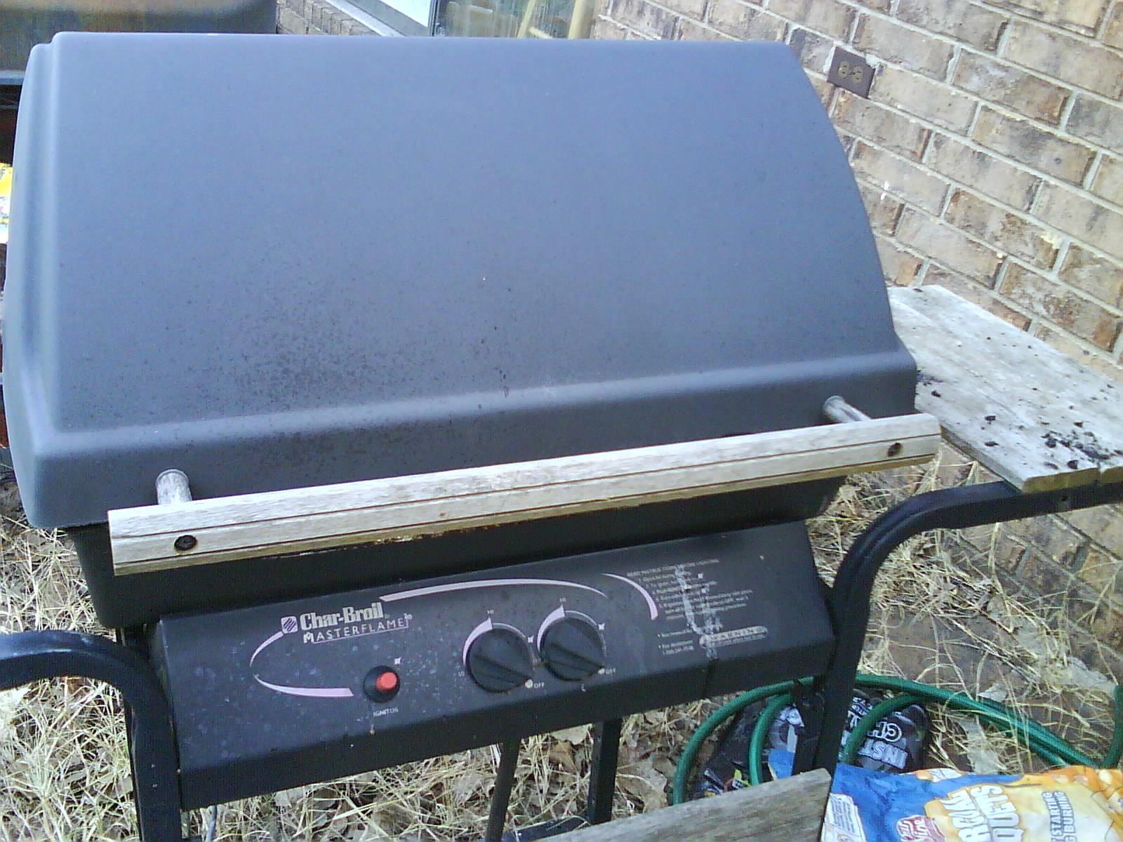Turn Gas Grill into Charcoal Grill