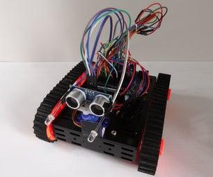 Arduino: Sensitive Robot