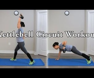Full Body Kettlebell Circuit Workout With Modifications