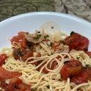Freshest Summer Tomato Pasta