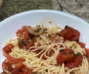 最新鲜的夏天番茄面团