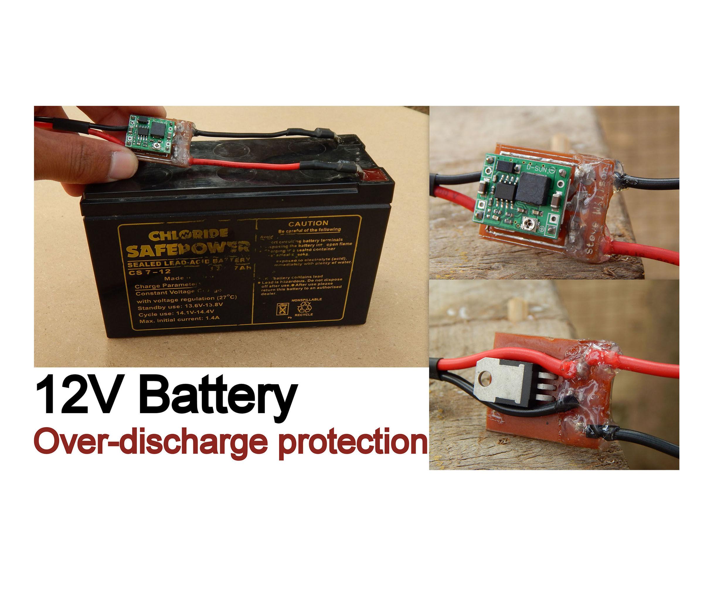 12V Battery Protection