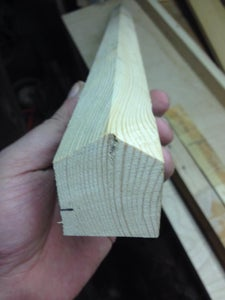 Cutting the Runners to Length for Use As the Legs