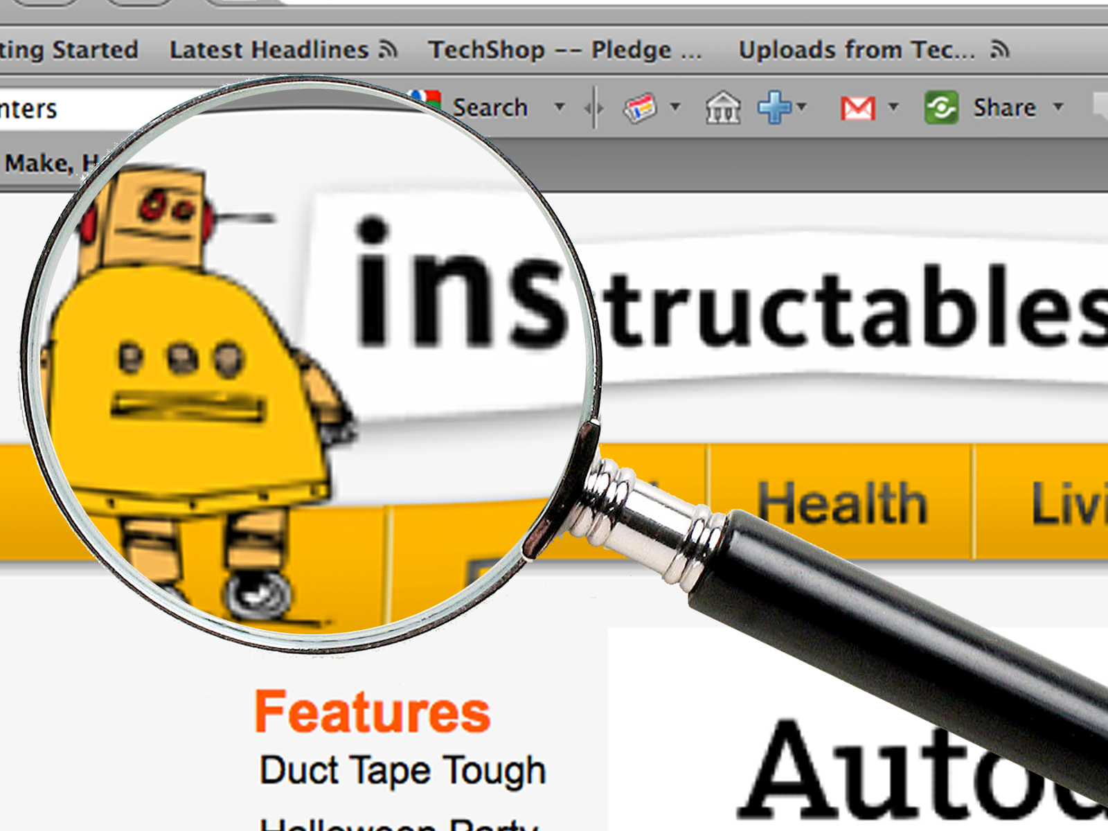 Title Search Hack on Instructables.com