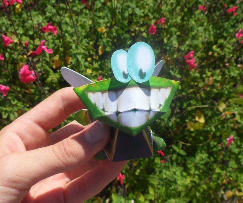 Murfy [Rayman] Papercraft!