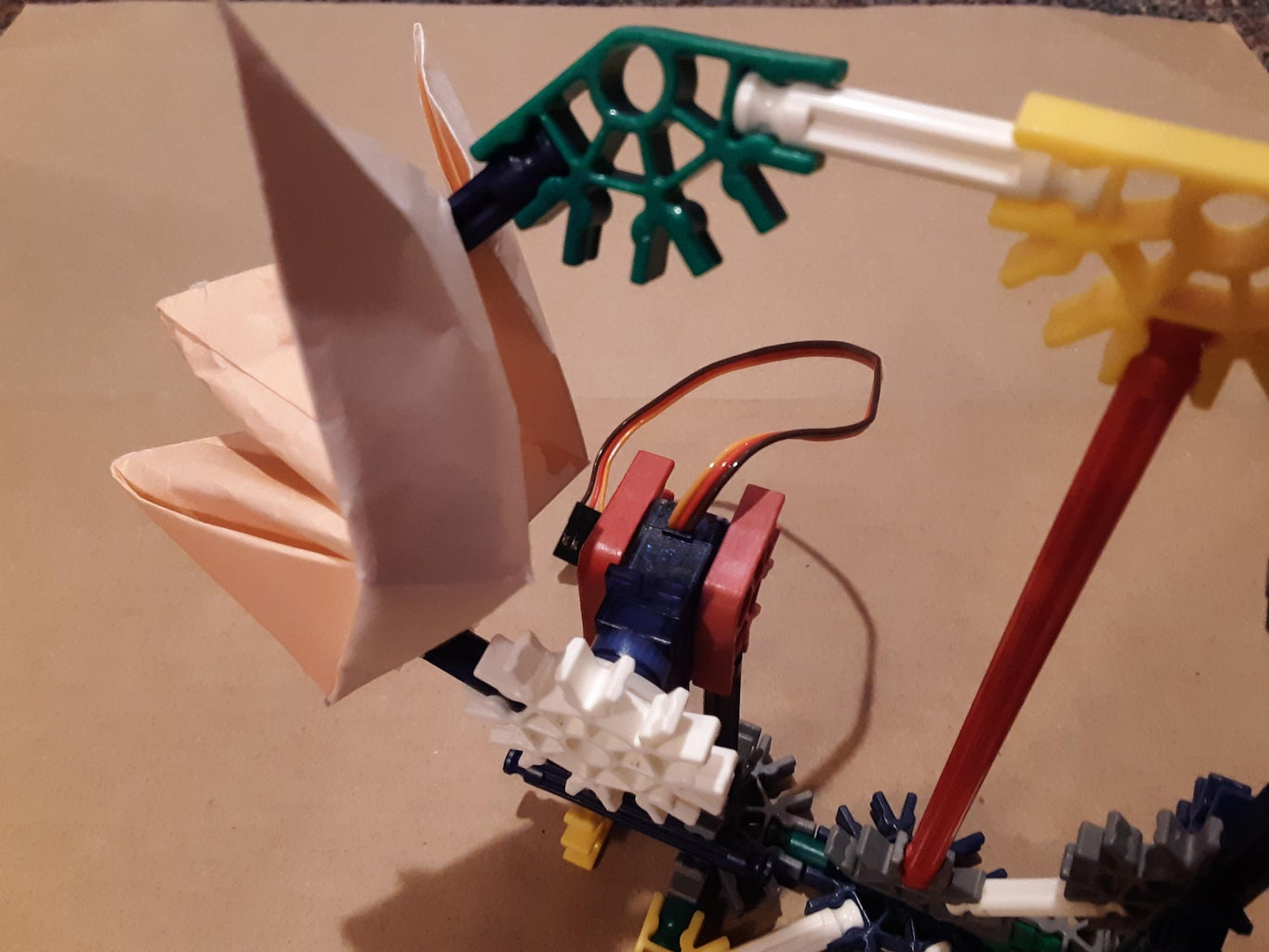 Install the Origami Fox Assembly