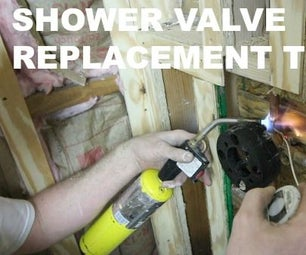 Shower Valve Replacement - Brass Rough-In, Copper Soldering, and PEX Tips