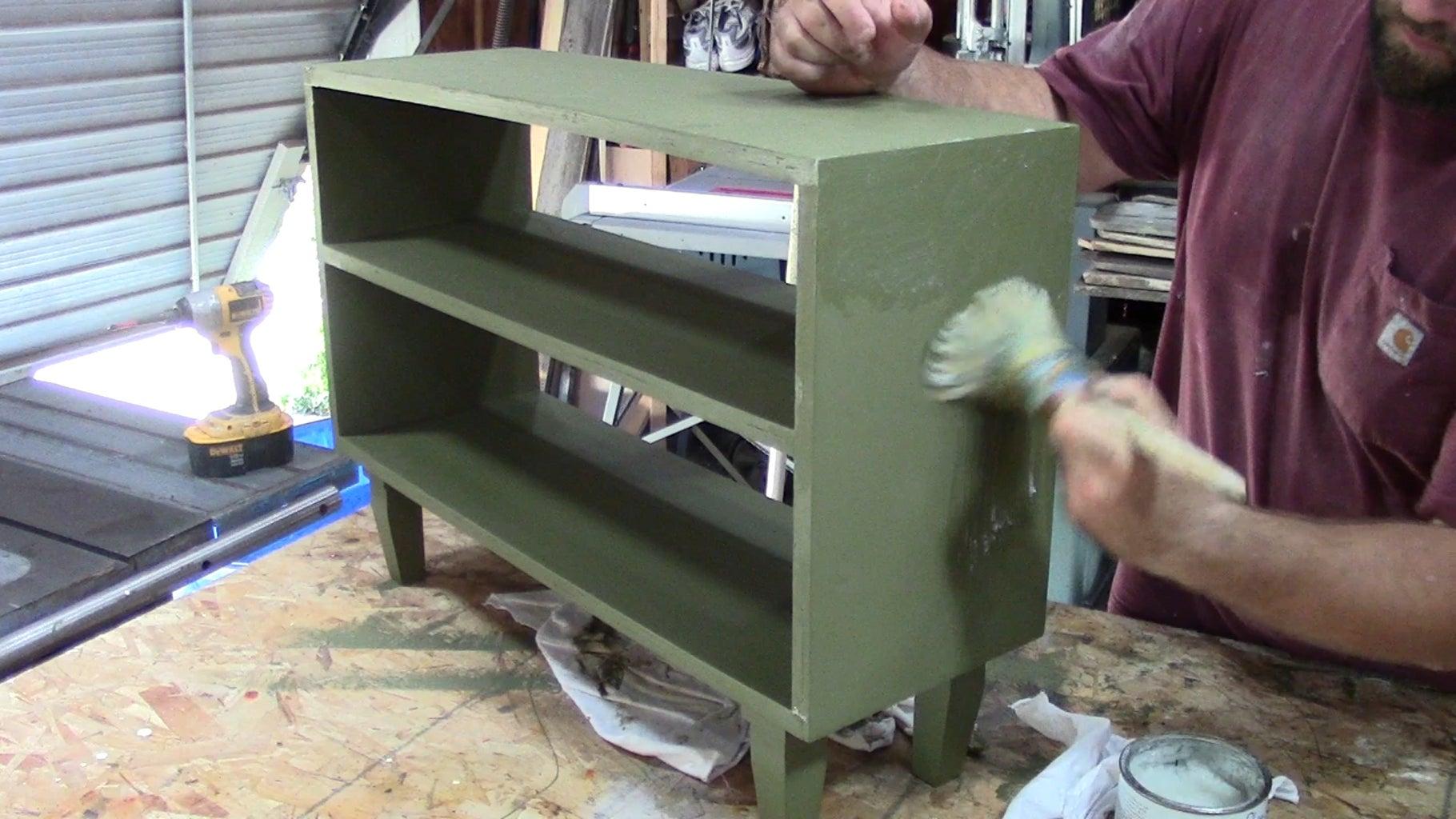 Paint Your Bookshelf.
