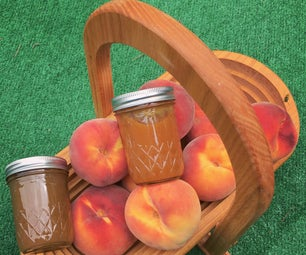 Low Sugar Peach Jalapeño Jelly