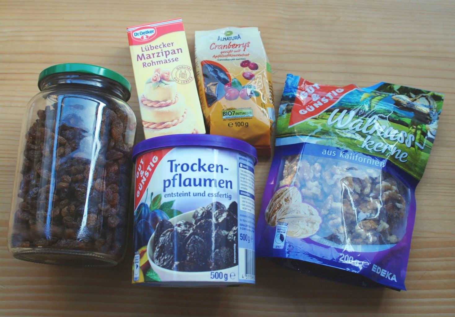 Fruit Chorizo - Ingredients