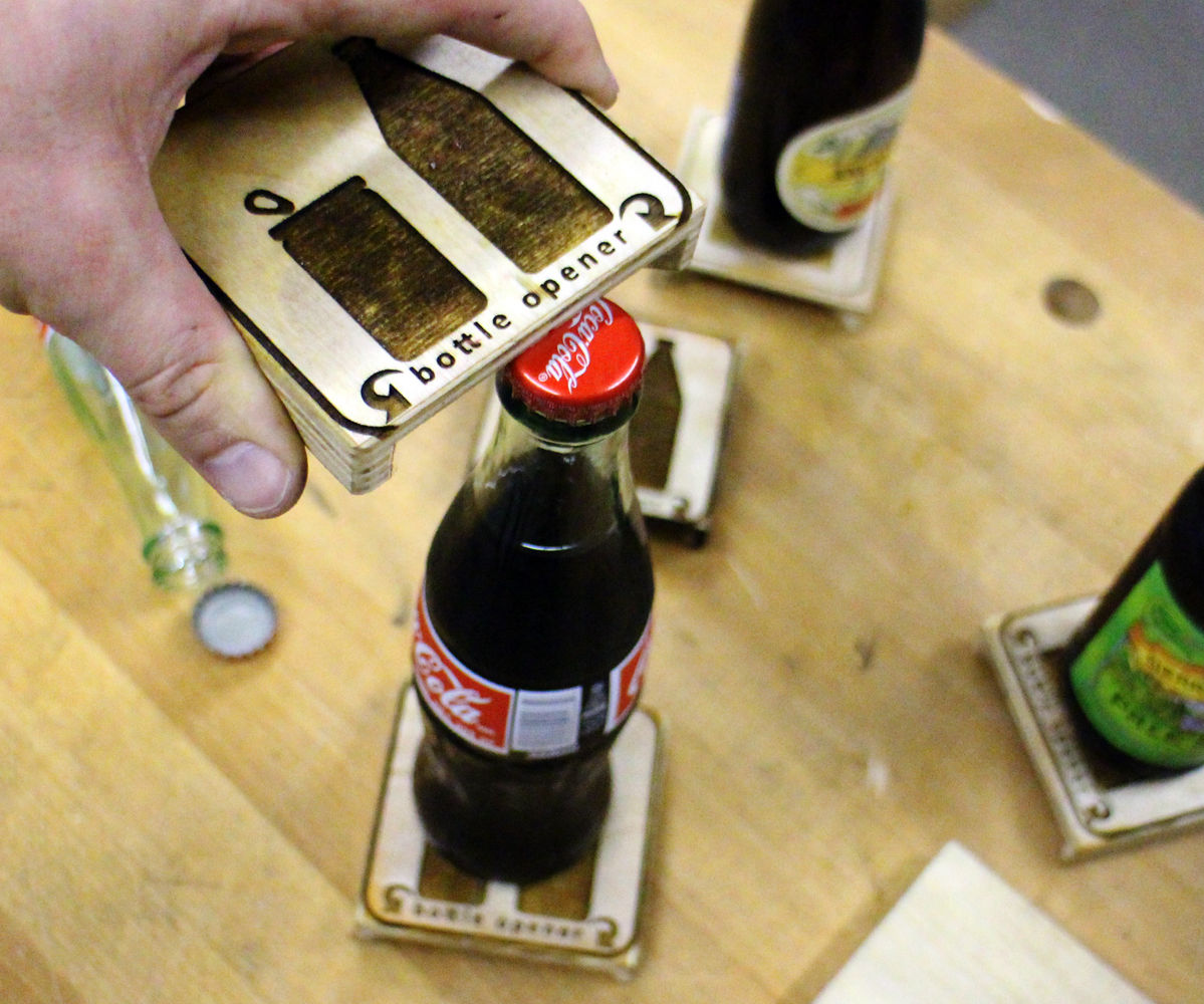 coaster bottle opener