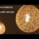 DIY String Lamp Shade