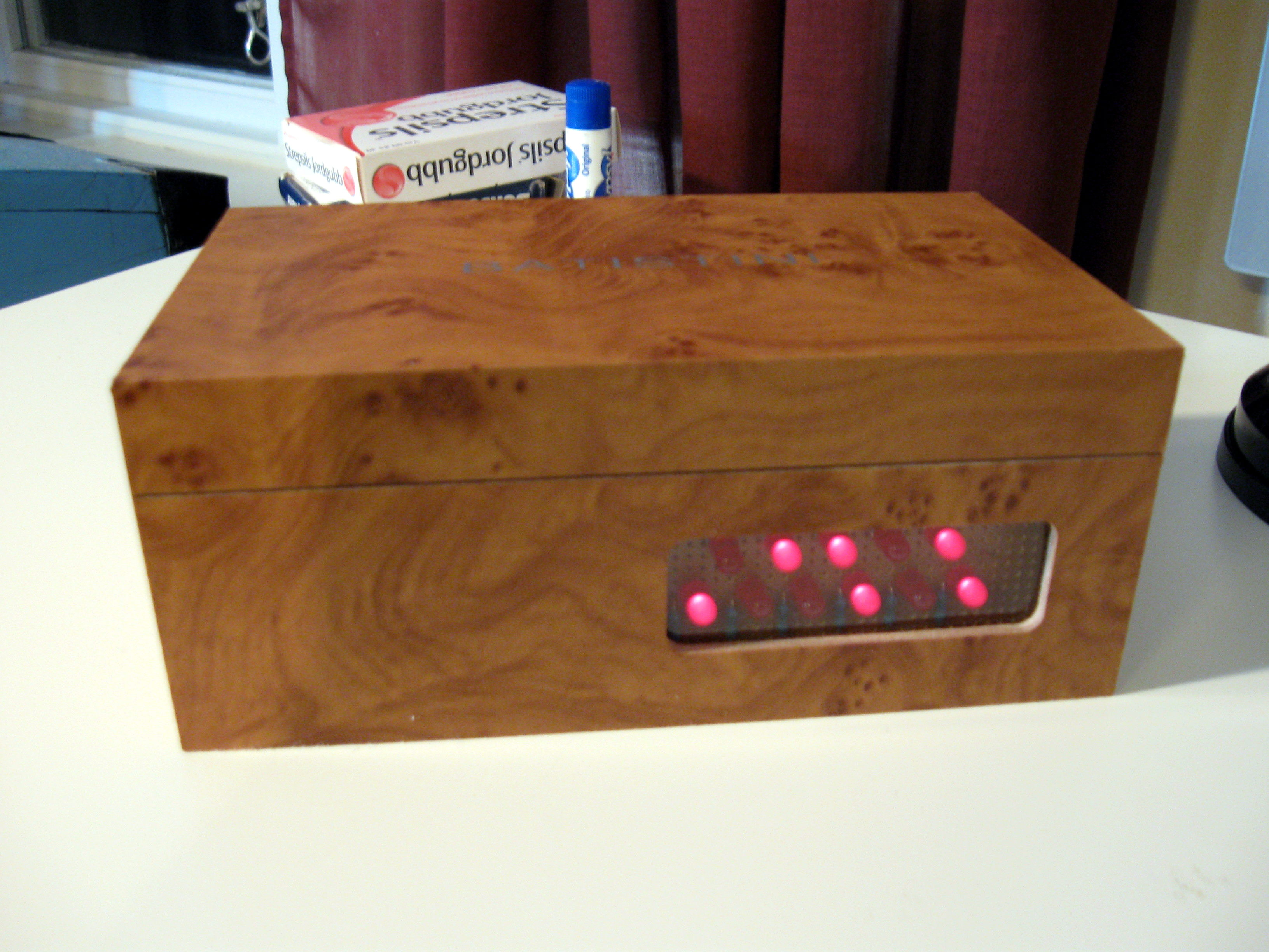 Arduino Binary Alarm Clock