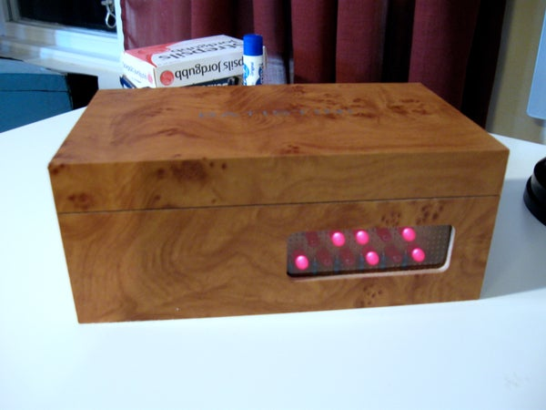 Arduino Binary Alarm Clock