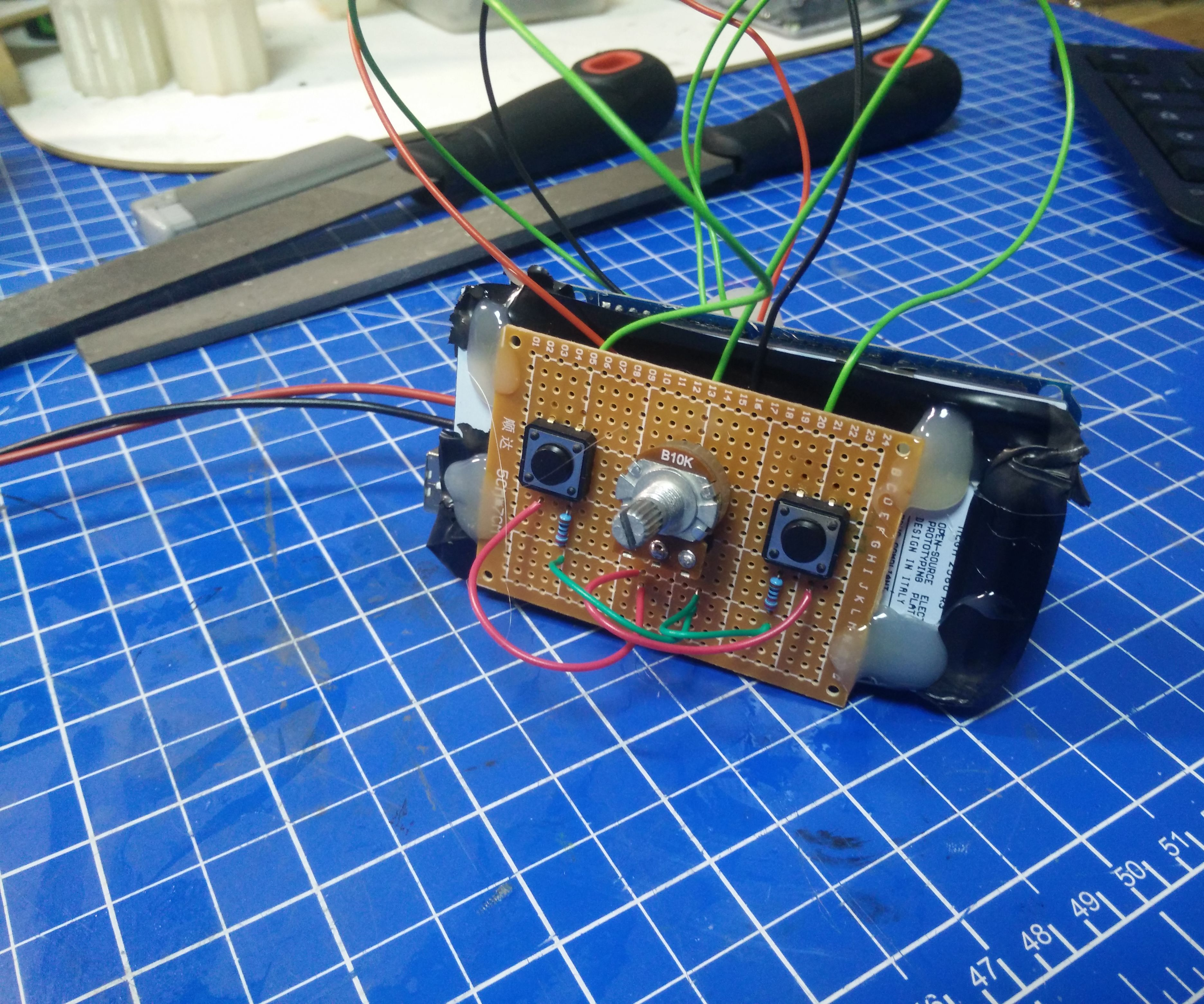 Simple 50 Channel Servo Tester - Project InMoov Dumb-Controller