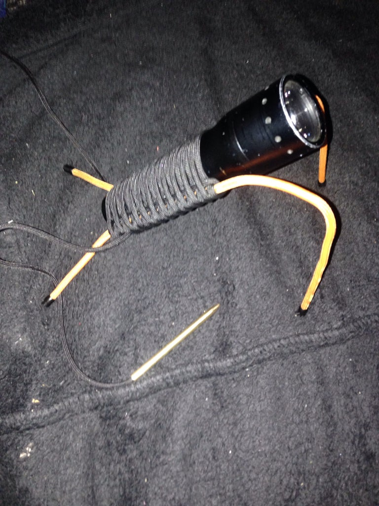 Pose-able Paracord Torch Wrap