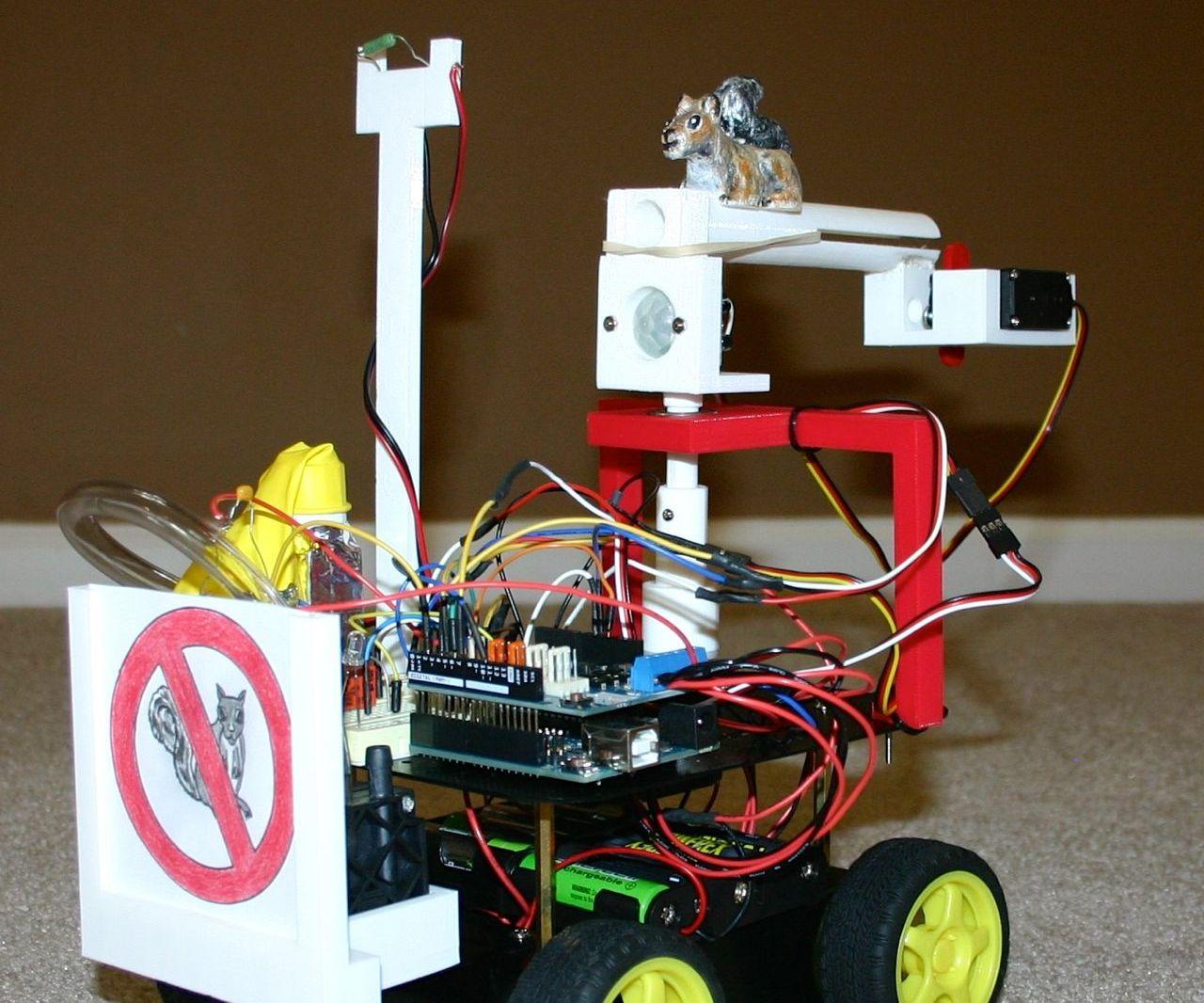 Squirrel Chasing Robot